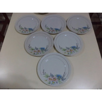 12 Pratos Porcelana Schmidt