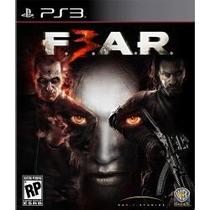 Fear 3 - Ps3 - Americano - Lacrado