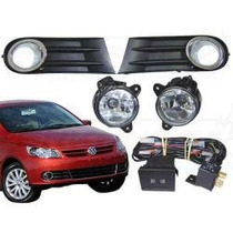 Kit Farol Milha Novo Gol Voyage G5/golf/fox2010/original Vw