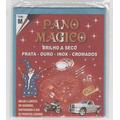 Flanela Pano Magico M Limpa Ouro Prata Metal - 2 Flanelas Md