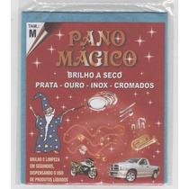 Kit Flanela Pano Magico Médias Limpa Ouro Prata 20 Flanelas