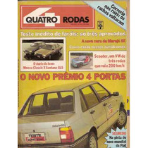 Revista Quatro Rodas - O Novo Prêmio 4 Portas