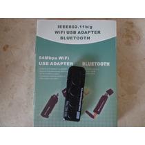 Moldem Adapter Bluetooth Wifi 54mbps Ieee802.11b/g