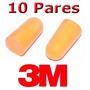 Protetor Auditivo De Espuma Moldável 3m Modelo 1100