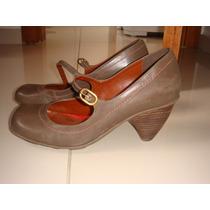 Barbada!!! Lindíssimo Sapato Para Raio N. 38 Couro Café Novo