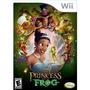 Jogo Da Disney The Princess And The Frog Para Nintendo Wii