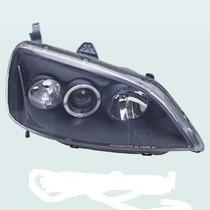 Farol Esportivo Projector & Angel Eyes Honda Civic 01/03 -