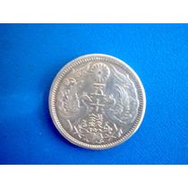 Japao-moeda De Prata De 50 Sen, De 1923, Taisho-perfeita