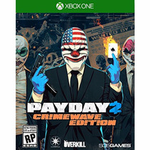 Jogo Novo Lacrado Payday 2 Crimewave Edition Xbox One