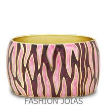 Bracelete Folheado A Outro 18k - Glamour E Elegancia