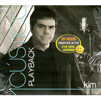 Cd Kim Acústico Play Back Vocal Banda Catedral - Raro