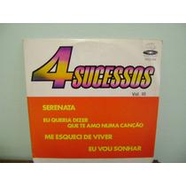Disco Compacto Vinil Lp - 4 Sucessos V. 3 Serenata Te Amo