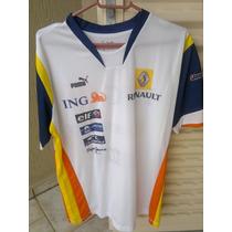 Camisa Renault F1 Puma Raríssima (ferrari Mclaren Rbr)