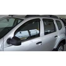 Renault Duster - Jogo De Calha Chuva Defletor Tg Poli 29007