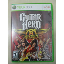 Guitar Hero Aerosmith - Original - Sedex A Partir De R$ 9,99