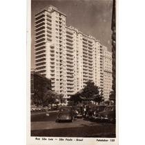 Cartão Postal Antigo São Paulo Rua São Luiz (p401)