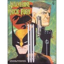 Graphic Novel Nº20 Wolverine & Nick Fury: Conexão Scorpio