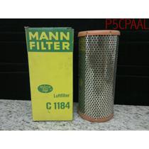 Filtro Ar Mann C1184 Citroen Xantia, Peugeot 205, 306, 309