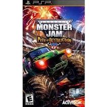 Jogo Umd Para Psp Monster Jam Path Of Destruction , Lacrado