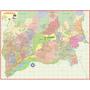 Mapa Gigante Da Cidade Município De Guarulhos 1,20 X 0,90 M
