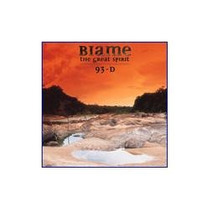 Cd - Biame - The Great Spirit 93-d