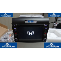 Central Multimidia P/ Honda Crv 2012 C/ Bt Gps Sd Etc Etc