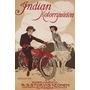 Motocicleta Indian Cachorro Garota Vintage Poster Repro