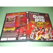 Guitar Hero Aerosmith Original Playstation 2 Frete Grátis