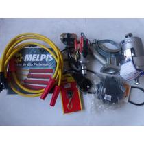 Alternador 75a+ignição Elet+cabo Velas 10mm Fusca Kombi Bras