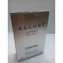 Perfume Allure Homme Sport 50 Ml Chanel Masculino Original