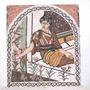 Mosaico Turco: Mulher (78 X 88 Cm)  Istambul  *** Aslan Shop