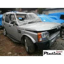 Sucata Land Rover Discovery 3 08 Peças Motor Câmbio Lanterna