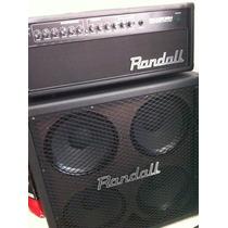 Amplificador Randall Rx 120 Rh + Caixa 4x12 120 Watss