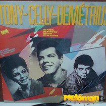 Tony-celly-demétrius 1989 St Lp Gravações Originais