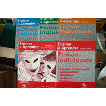 Livros - Ensinar E Aprender - 1-2-3- Fichas Individuais