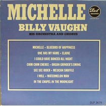 Billy Vaughn - Lp Michelle (1966) (imp. Stereo - Novíssimo)