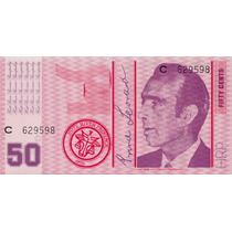 Hutt River Province Australia 50 Cents 1970 Fe * Q J *