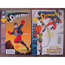 Superboy Revista De Aço Abril Nºs 1 Ao 22 Ed. Abril