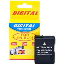 Bateria Compatível Nikon En-el14 P/ D3100 D3200 D5100 D5200