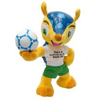 Pelucia Oficial Fuleco Bbr - Copa Do Mundo 2014 Fifa