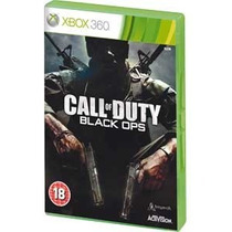Jogo Xbox 360 Call Of Duty Black Ops Lacrado Americano Regio