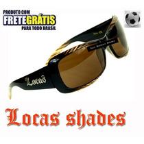 Óculos De Sol Feminino Locas Original Importado Anti-raio Uv