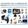 Gps Foston Fs-3d717/brinde Camera De Ré+3 Navegadores