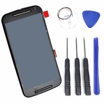 Moto G2 Xt-1068 Xt-1069 Tela Touch Display Lcd + Ferramentas