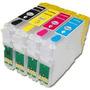 Cartucho Recarregável P Impressora Epson Tx105 Tx115 T23 T24