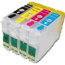 Cartucho Recarregável P/ Epson Tx220 + Tinta Formulabs + Nf