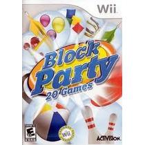 Jogo Block Party 20 Games Lacrado Para Nintendo Wii