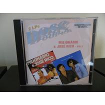 Cd Milionário E José Rico - Vol.5 - 2lps Dose Dupla