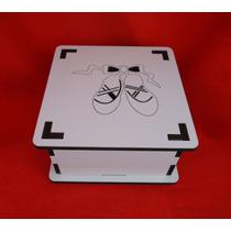 Caixa Bailarina Nº02 - Mdf Branco - Corte A Laser