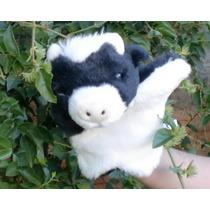 Fantoche Minha Fazenda - Vaca Malhada - Frete Grátis